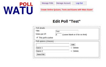 Best Website Poll Plugin
